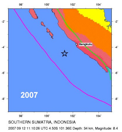 2007 South Sumatra earthquake